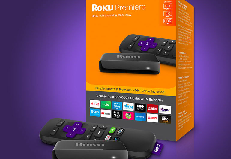 The Roku Premiere 4K HDR is just $1 beyond the non-4K model