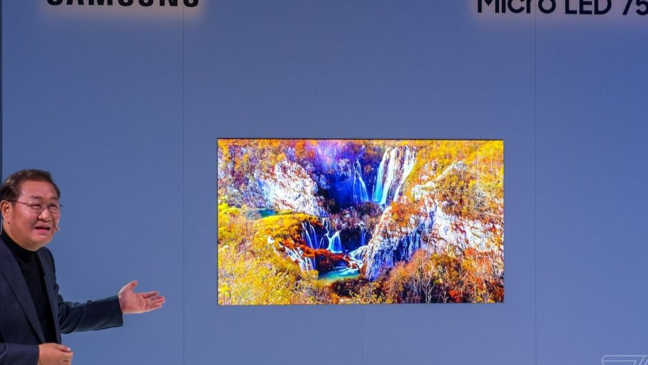 Samsung's 75-inch MicroLED 4K TV is a tremendous advance into what's to come