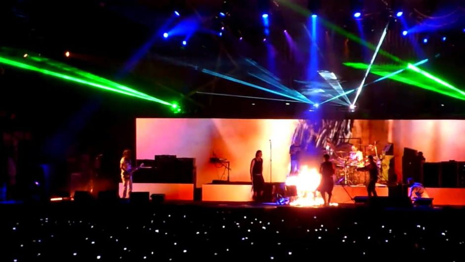 "SEE RAMMSTEIN SET FIRE TO TOOL'S STAGE DURING 2011 ""LATERALUS"" PERFORMANCE"