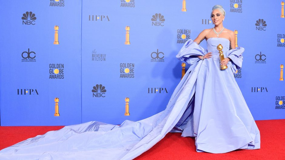 Lady Gaga's Showstopping Golden Globes Dress Was Actually a Huge Nod to Another Iconic Actress