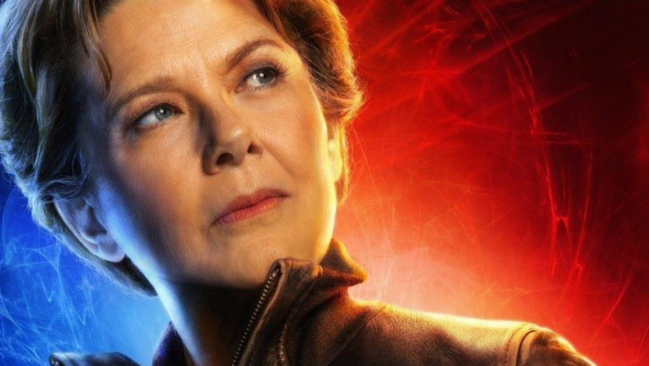 Annette Bening's children helped her plan for 'Captain Marvel'