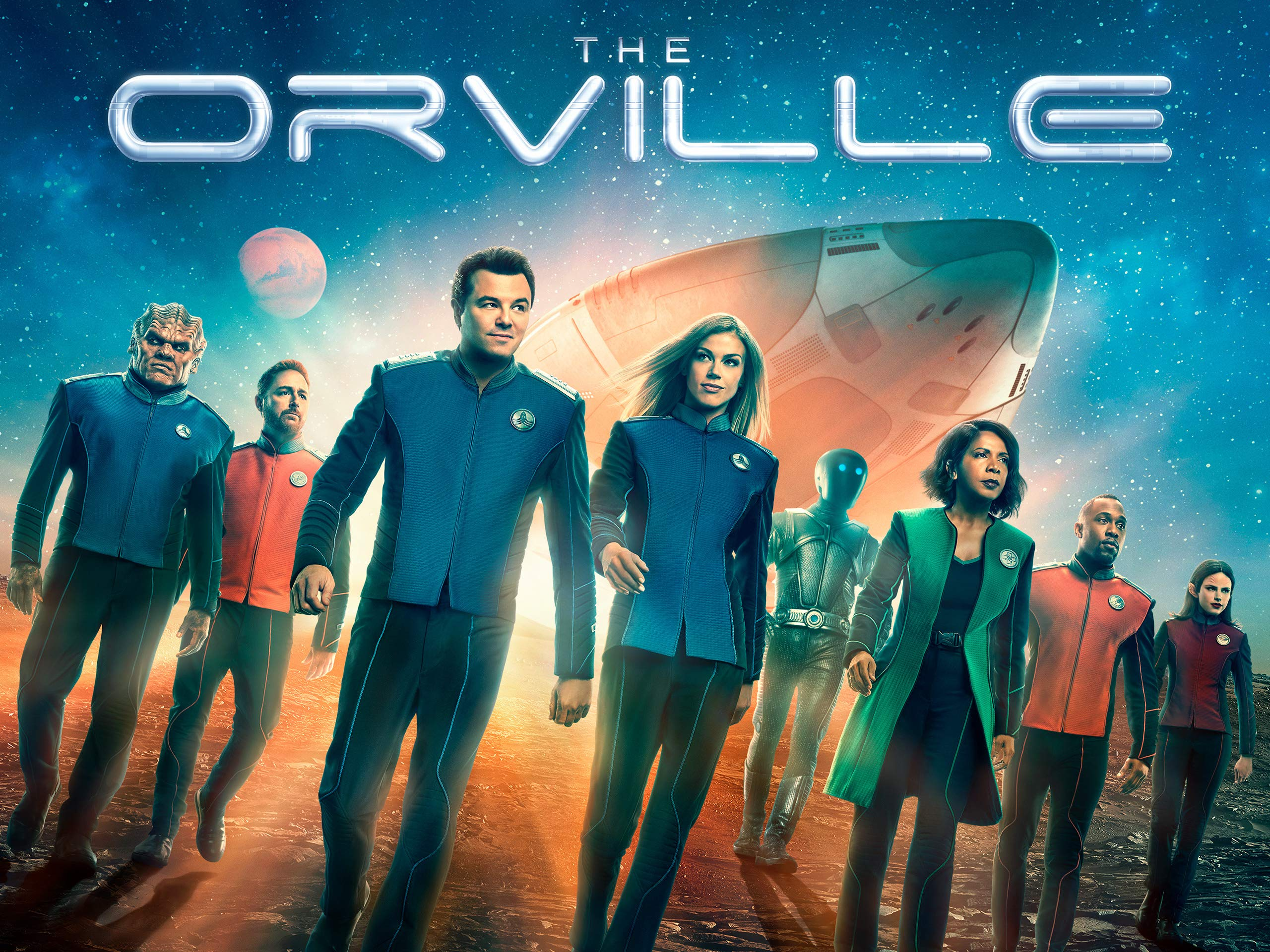 Seth MacFarlane's The Orville will be a Hulu next season