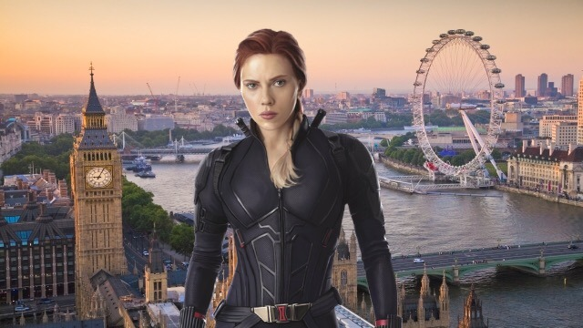 Marvel's Black Widow Has Shifted Production to London