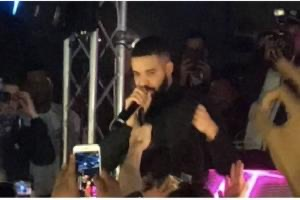 Global superstar Drake performs in small leicester nightclub; Leaving party Goers in a Frenzy! Bombay boy Ansh Jagwani co-sponsors night !