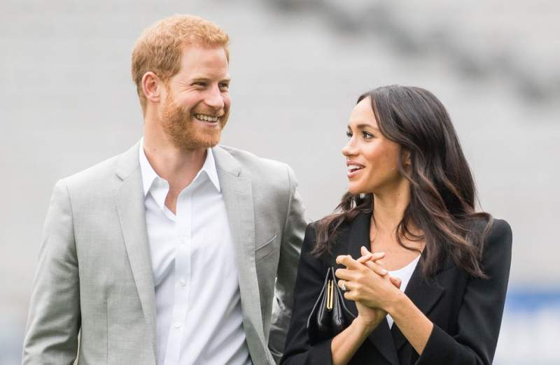 "Sovereign Harry and Duchess Meghan Take the Day Off Work to Celebrate Their Anniversary ""as a Family"""
