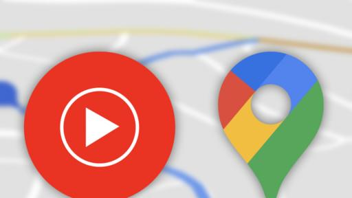Instructions to utilize YouTube Music in Google Maps navigation mode