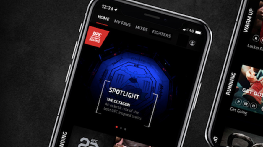 Ultimate Fighting Championship: Launches music streaming application