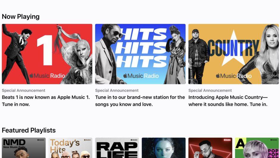 Apple – Declares 'Apple Music radio'