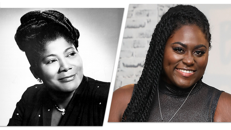 Daniel Brooks will play Mahalia Jackson in the movie Lifetime