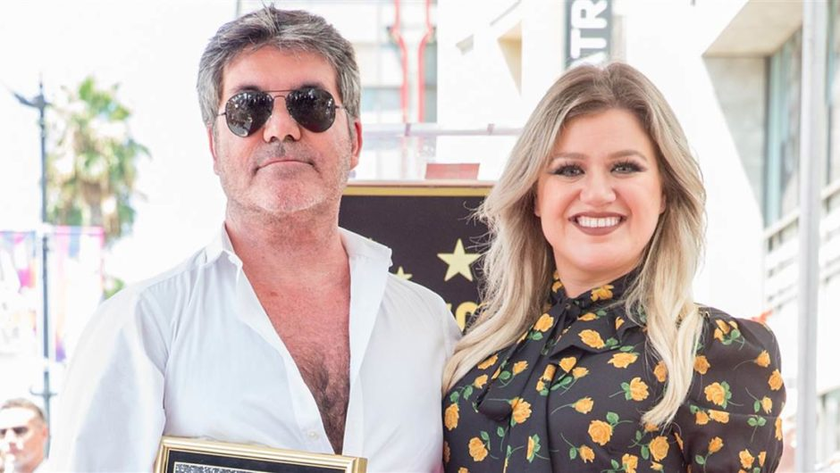 "Kelly Clarkson will be casting Simon Cowell on ""America's Got Talent"""
