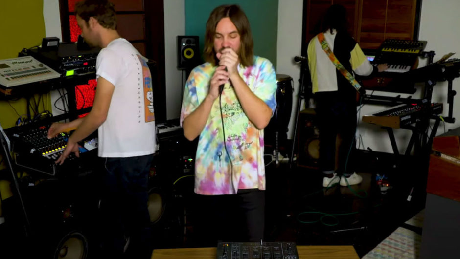 "Check out Tame Impala's intimate ""Tiny Desk Home"" performance"