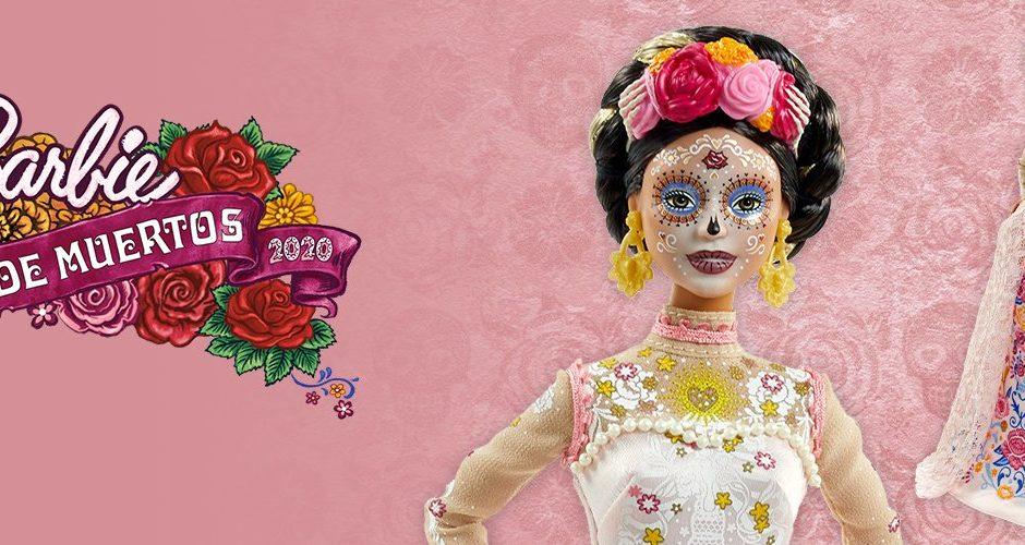 """Barbie declares the second version of the """"Día de Muertos"""" doll"""