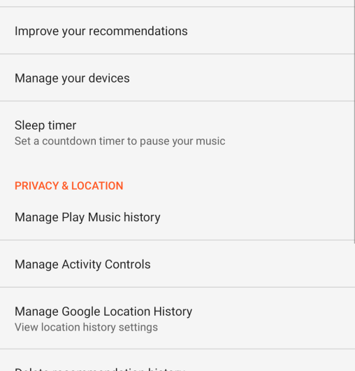 "The ""Export Local Playlist"" option is added to Google Play Music for Android"
