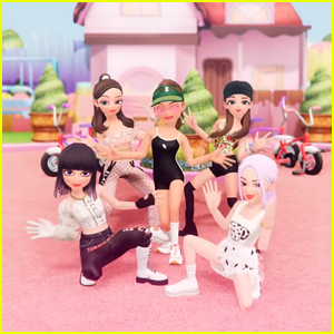 """Blackpink and Selena Gomez """"Ice Cream"""" Chilling of Waffle Cone for 'Animated Dance' Performance Video"""