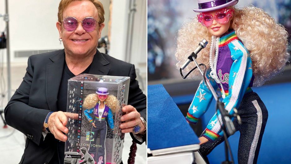 "Elton John is getting his own ""Barbie doll"""