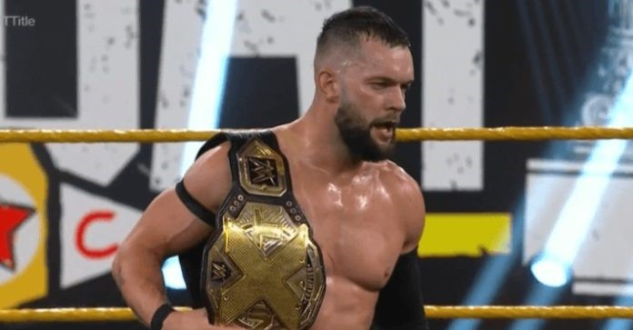 WWE NXT Champion: Finn Balor broke his jaw in two places