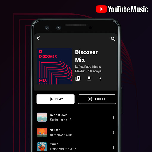 Google Assistant on Android currently lets you play individual YouTube Music playlists