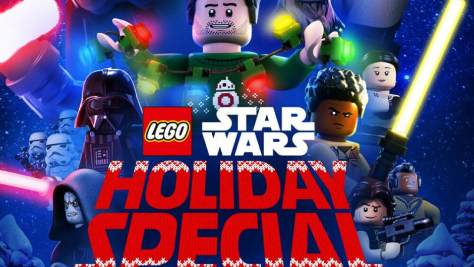 "Disney has shared a trailer for its ""Lego Star Wars Holiday Special"""