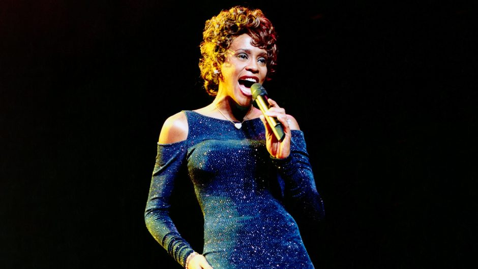 Whitney Houston was enlisted into the Rock & Roll Hall of Fame