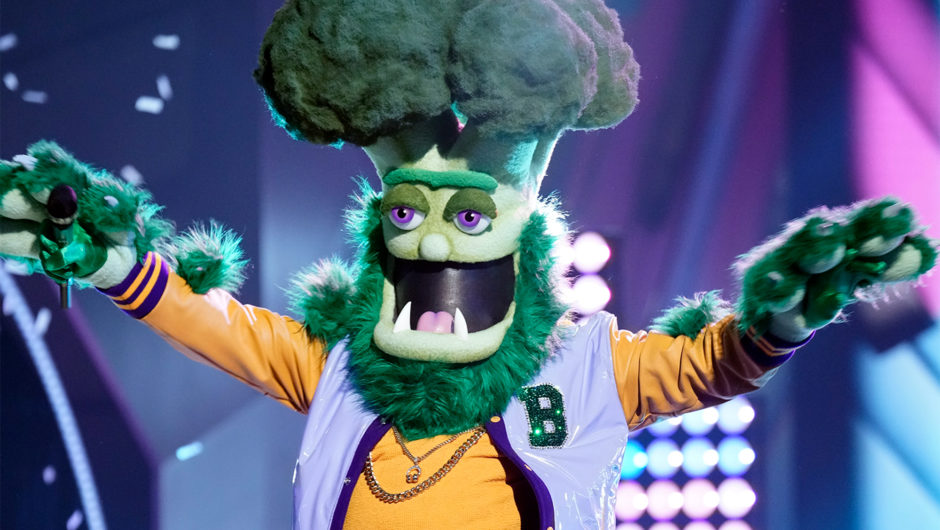The Masked Singer: uncovers the identity of broccoli- Here's the star of the under mask