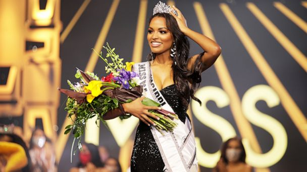 "The first black winner in Mississippi history won the ""Miss USA crown"""
