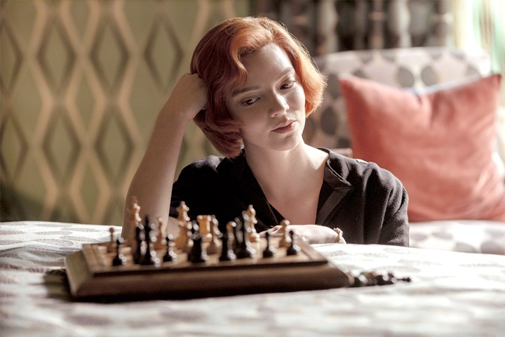 Chess is back in the Netflix series