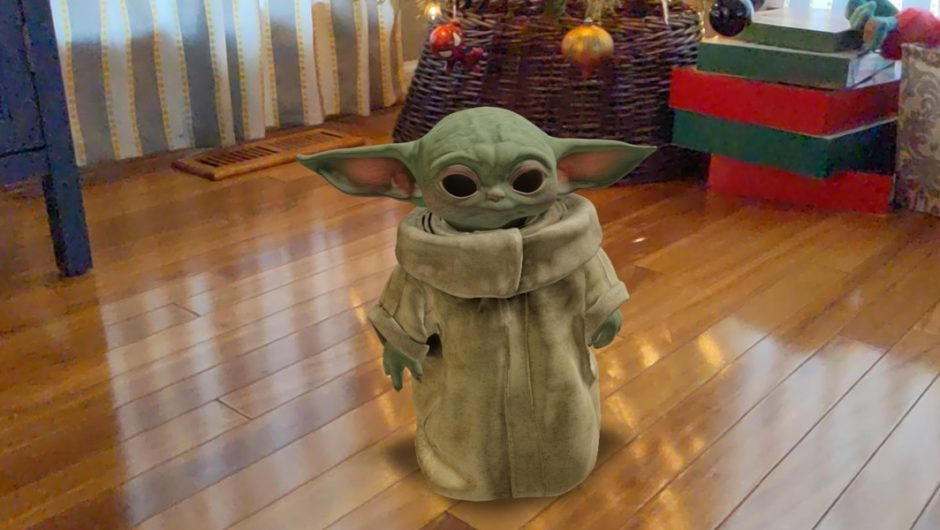 Baby Yoda can live on your desk with AR and Google search