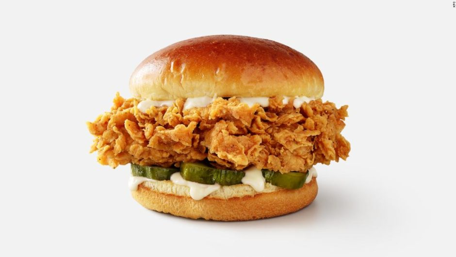 KFC recently improved its chicken sandwich