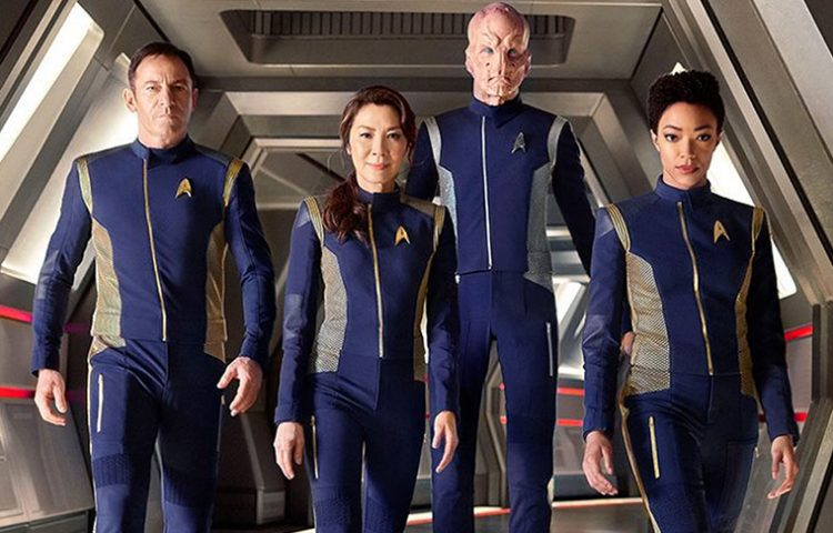 Star Trek: Discovery- Crew gets new uniforms