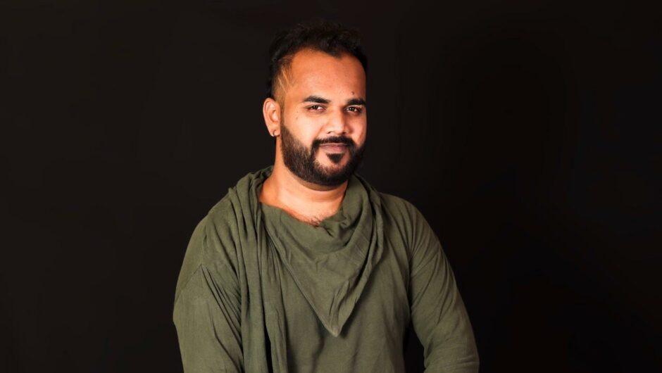 Confident & Handsome Indian Fashion Model Pramath Bhat