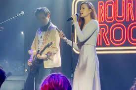 Evan Rachel Wood Gives Marilyn Manson The Finger In Live Presentation After Kanye West Occasion