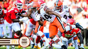 Browns construct early lead yet can't hang on in Kansas City