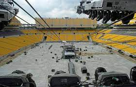 Downpour could affect fans plans for the Rolling Stones show onto Heinz Field